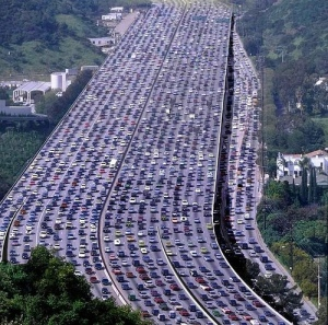 Super Crowded Highway