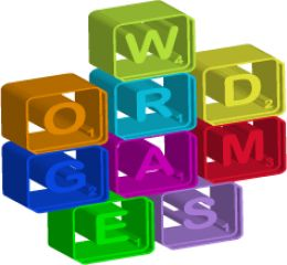 Word Game Letters